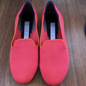 Rothy's Flamingo Loafers RARE DISCONTINUED